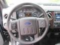 2012 Tuxedo Black Metallic Ford F250 Super Duty Lariat Crew Cab 4x4  photo #11