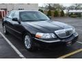 Black 2008 Lincoln Town Car Executive L