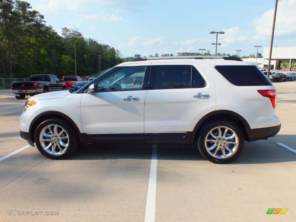 2013 white platinum tri coat ford explorer limited 63671932 photo 8 car color. Black Bedroom Furniture Sets. Home Design Ideas