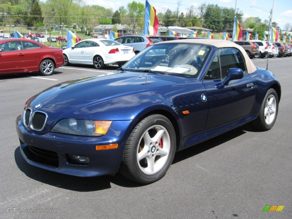 Montreal Blue Metallic 1998 Bmw Z3 2 8 Roadster Exterior