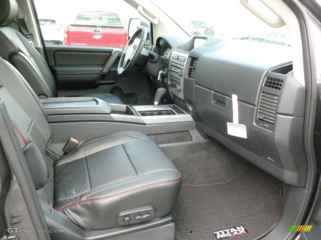 2012 nissan titan pro 4x crew cab 4x4 interior photo. Black Bedroom Furniture Sets. Home Design Ideas