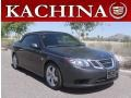 Carbon Gray Metallic 2010 Saab 9-3 2.0T Convertible