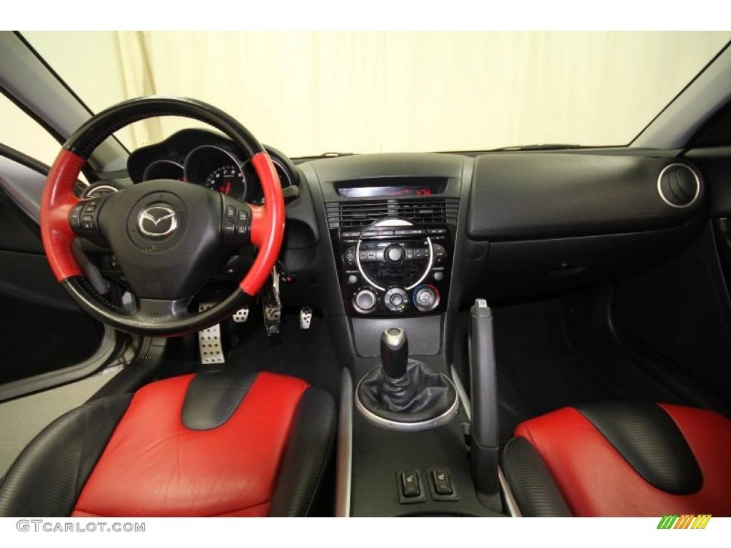 2004 Mazda Rx 8 Grand Touring Black Red Dashboard Photo 63699474 Gtcarlot Com