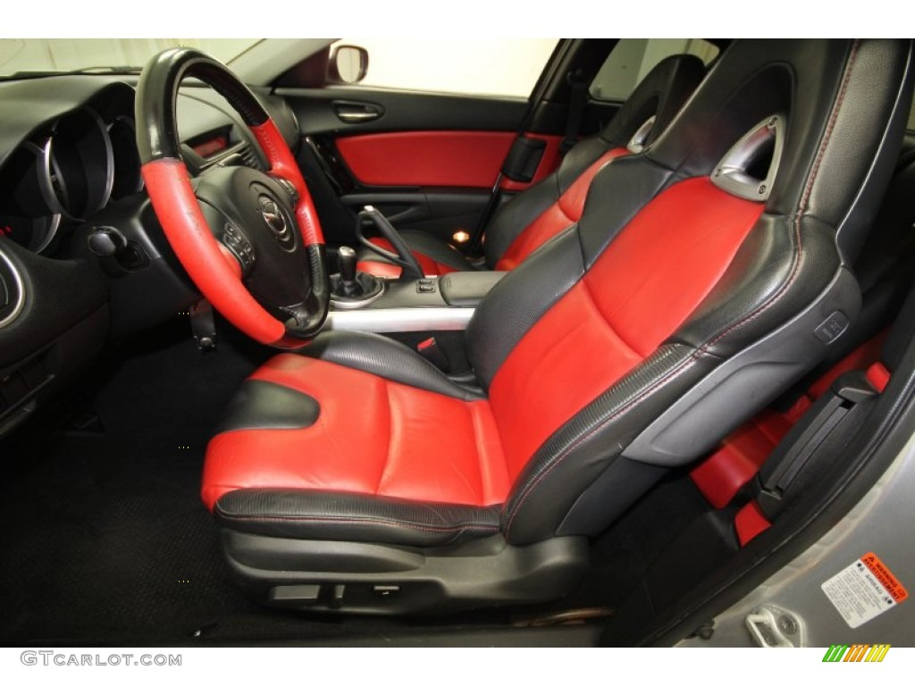 Black Red Interior 2004 Mazda Rx 8 Grand Touring Photo 63699543 Gtcarlot Com