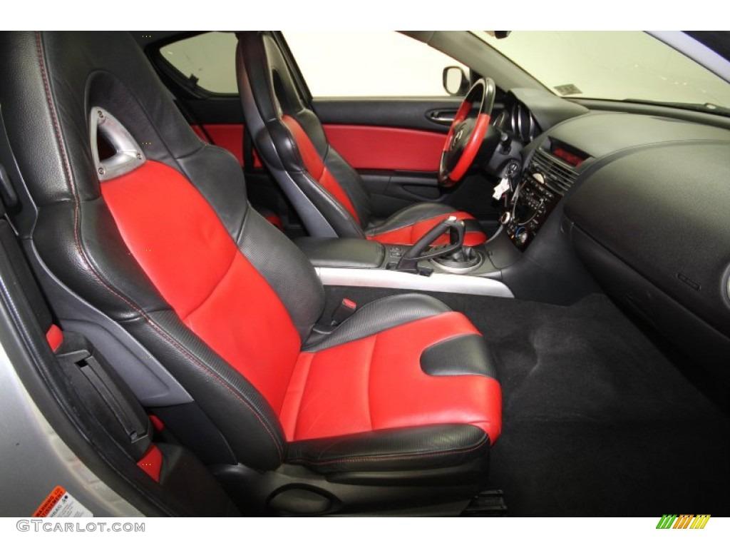 black/red interior 2004 mazda rx-8 grand touring photo #63699747