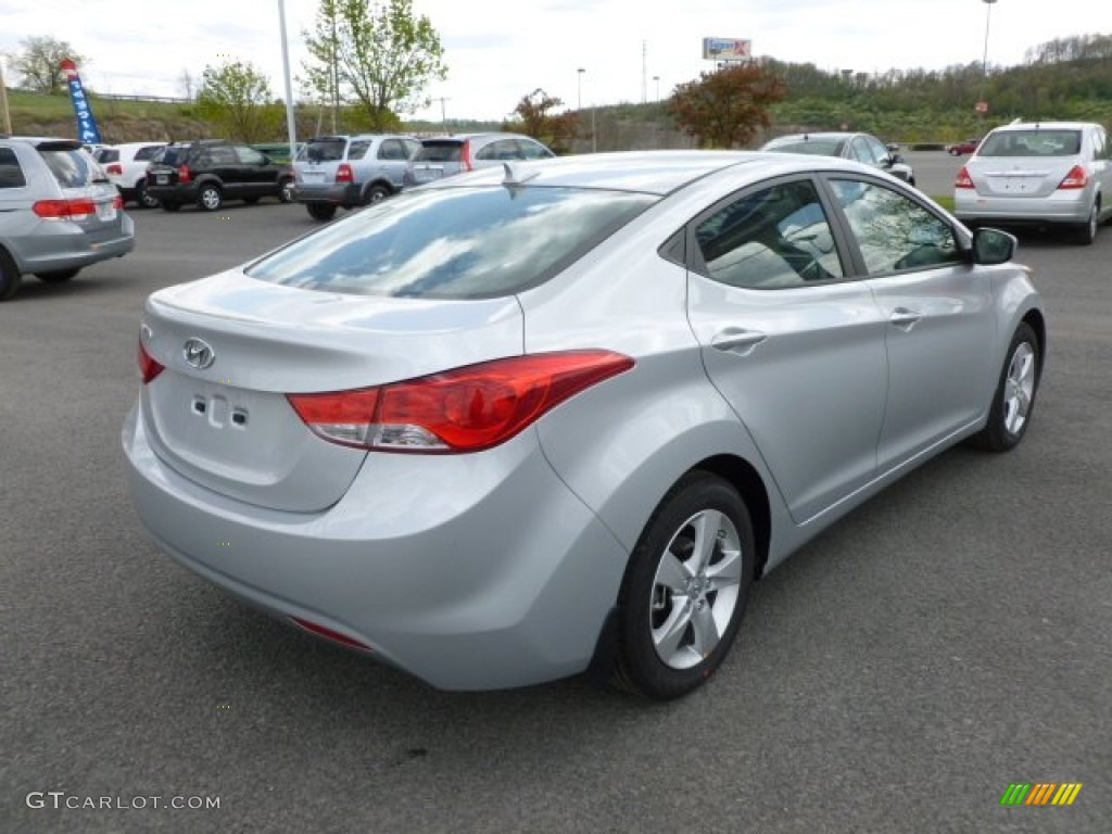 Hyundai Elantra 2013 Silver Autos Post