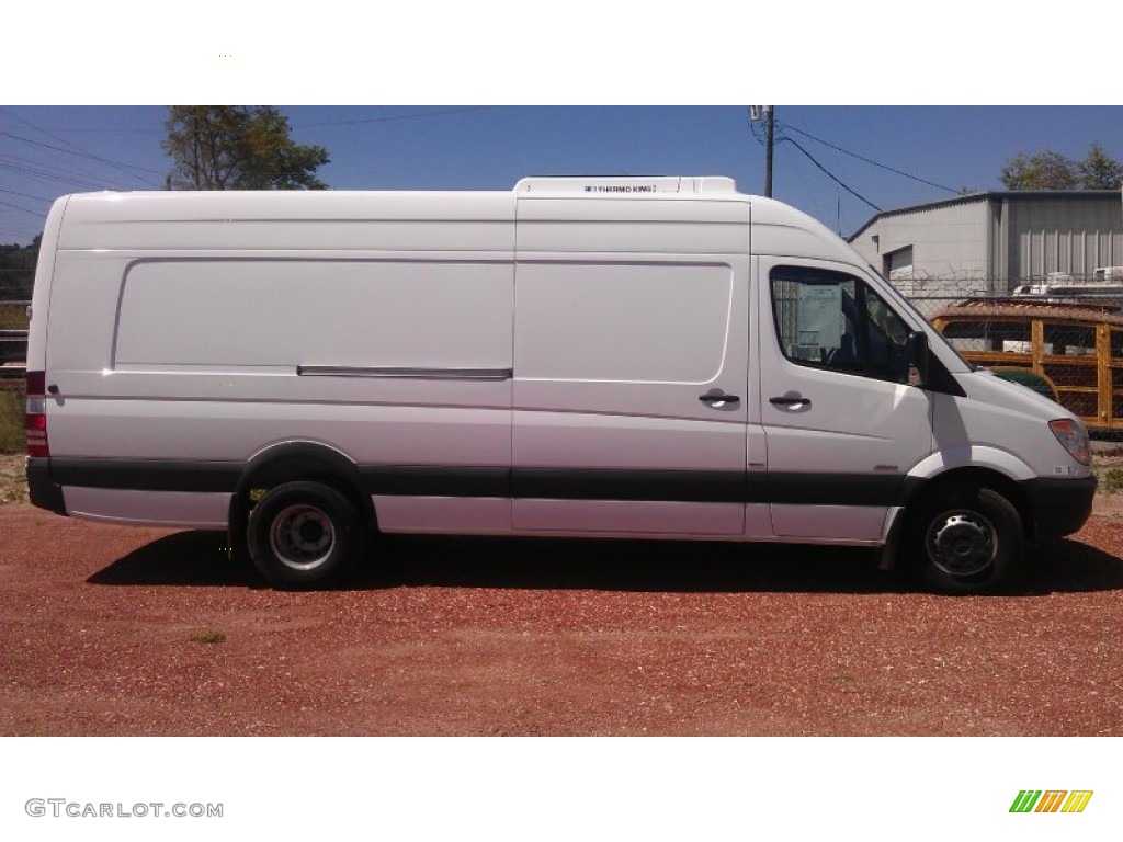 Arctic white 2012 mercedes benz sprinter 3500 refrigerated for Mercedes benz sprinter cargo van
