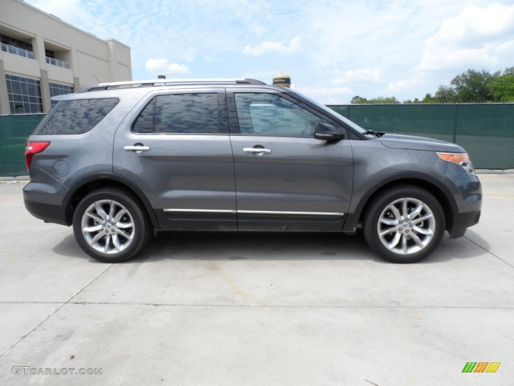 Sterling Gray Metallic 2013 Ford Explorer XLT Exterior Photo #63713608