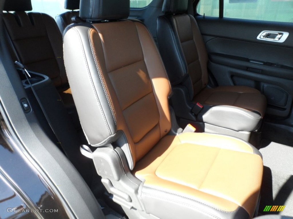 Pecan/Charcoal Black Interior 2013 Ford Explorer Limited Photo #63713965