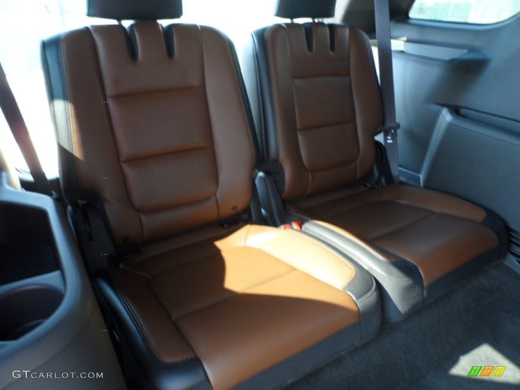 Pecan/Charcoal Black Interior 2013 Ford Explorer Limited Photo #63713971