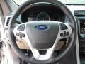 Medium Light Stone Steering Wheel Photo for 2013 Ford Explorer #63714343