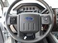2012 Ingot Silver Metallic Ford F250 Super Duty Lariat Crew Cab  photo #36