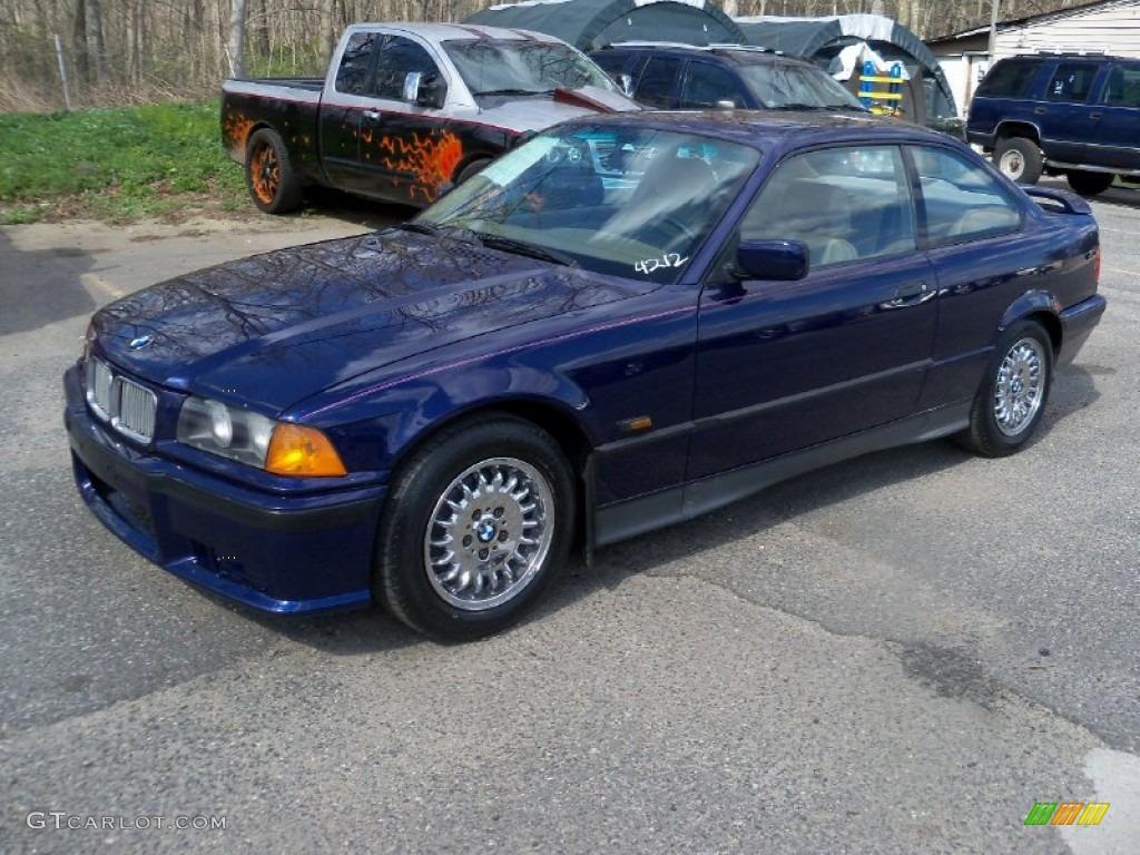 Samoa blue metallic 1995 bmw 3 series 325is coupe exterior photo 63721145