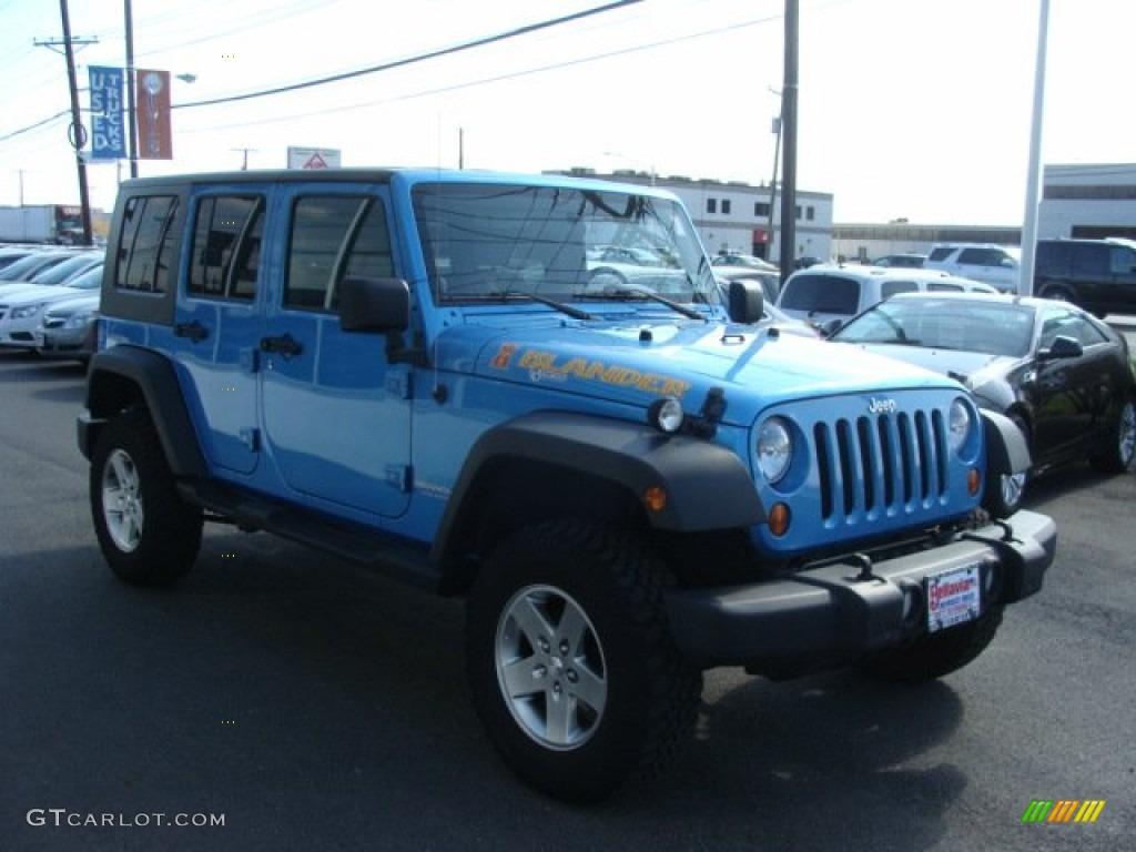 2010 surf blue pearl jeep wrangler unlimited islander. Black Bedroom Furniture Sets. Home Design Ideas