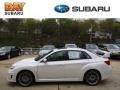 Satin White Pearl - Impreza WRX STi Limited 4 Door Photo No. 1