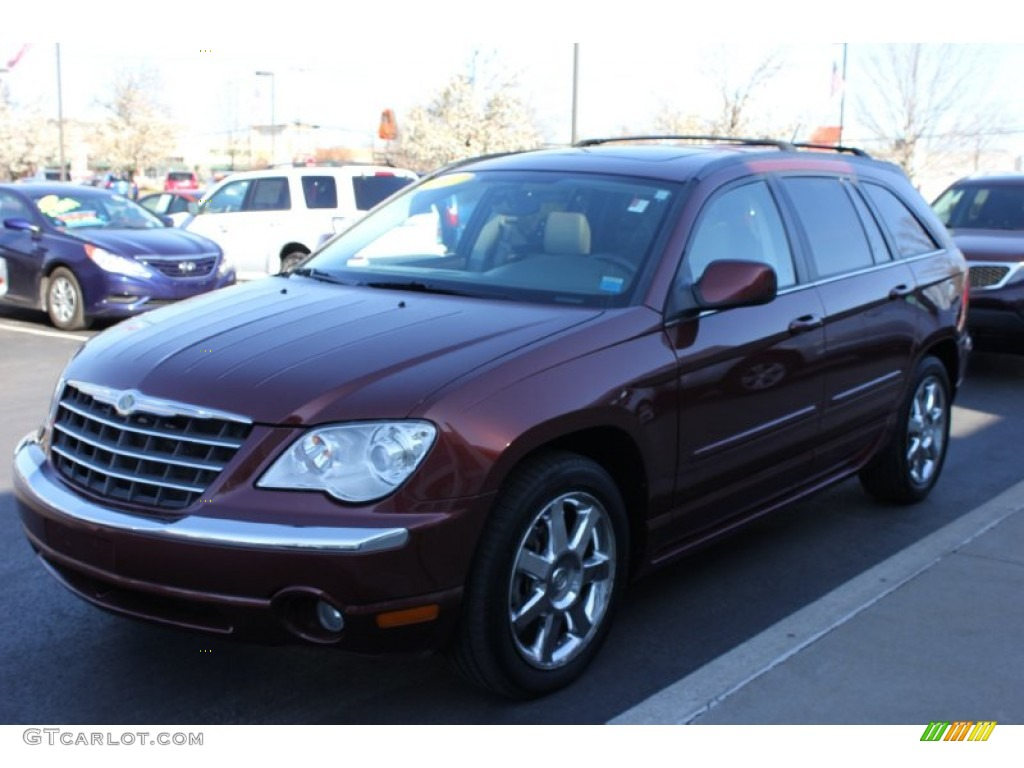 2007 cognac crystal pearl chrysler pacifica limited awd 63723979 car color. Black Bedroom Furniture Sets. Home Design Ideas
