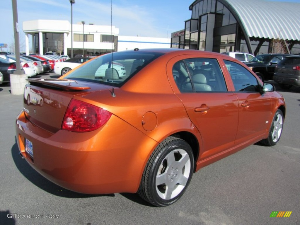 sunburst orange metallic 2007 chevrolet cobalt ss sedan. Black Bedroom Furniture Sets. Home Design Ideas
