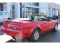 2007 Torch Red Ford Mustang V6 Premium Convertible  photo #13