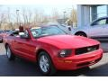 2007 Torch Red Ford Mustang V6 Premium Convertible  photo #17
