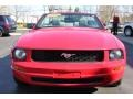 2007 Torch Red Ford Mustang V6 Premium Convertible  photo #18