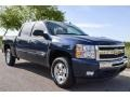 2011 Imperial Blue Metallic Chevrolet Silverado 1500 LT Crew Cab  photo #8