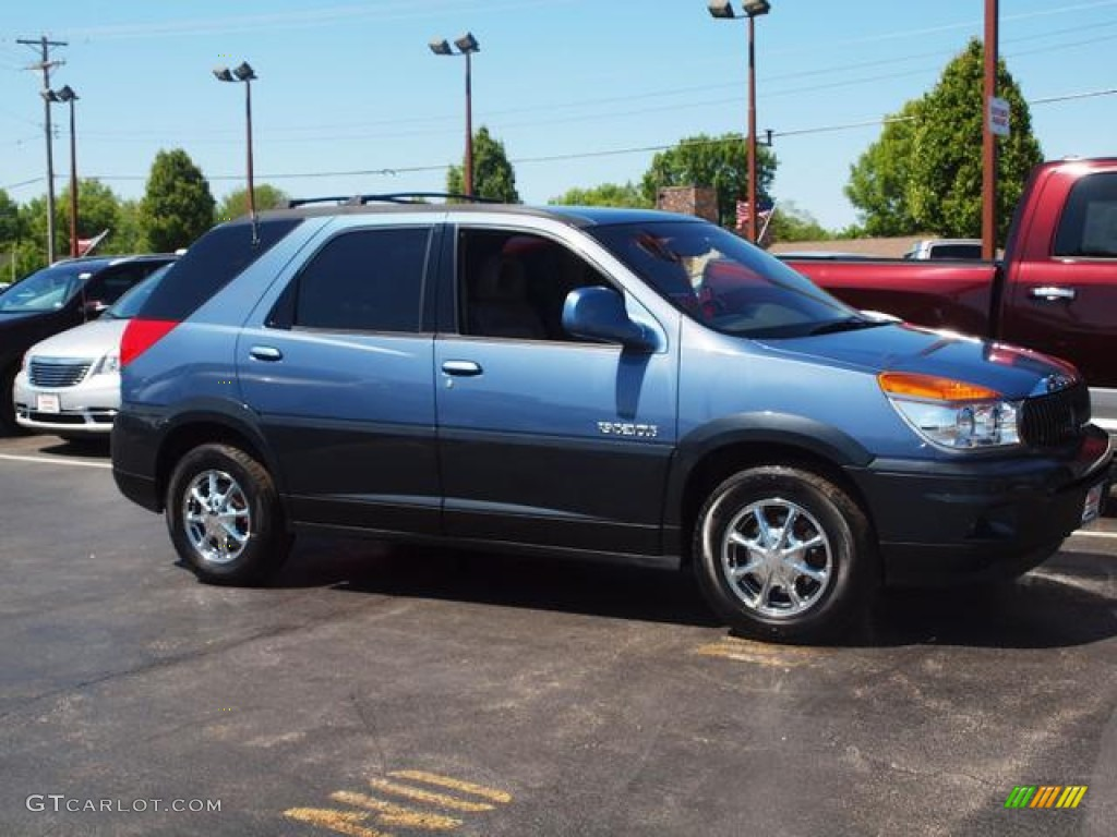 opal blue 2002 buick rendezvous cxl awd exterior photo. Black Bedroom Furniture Sets. Home Design Ideas