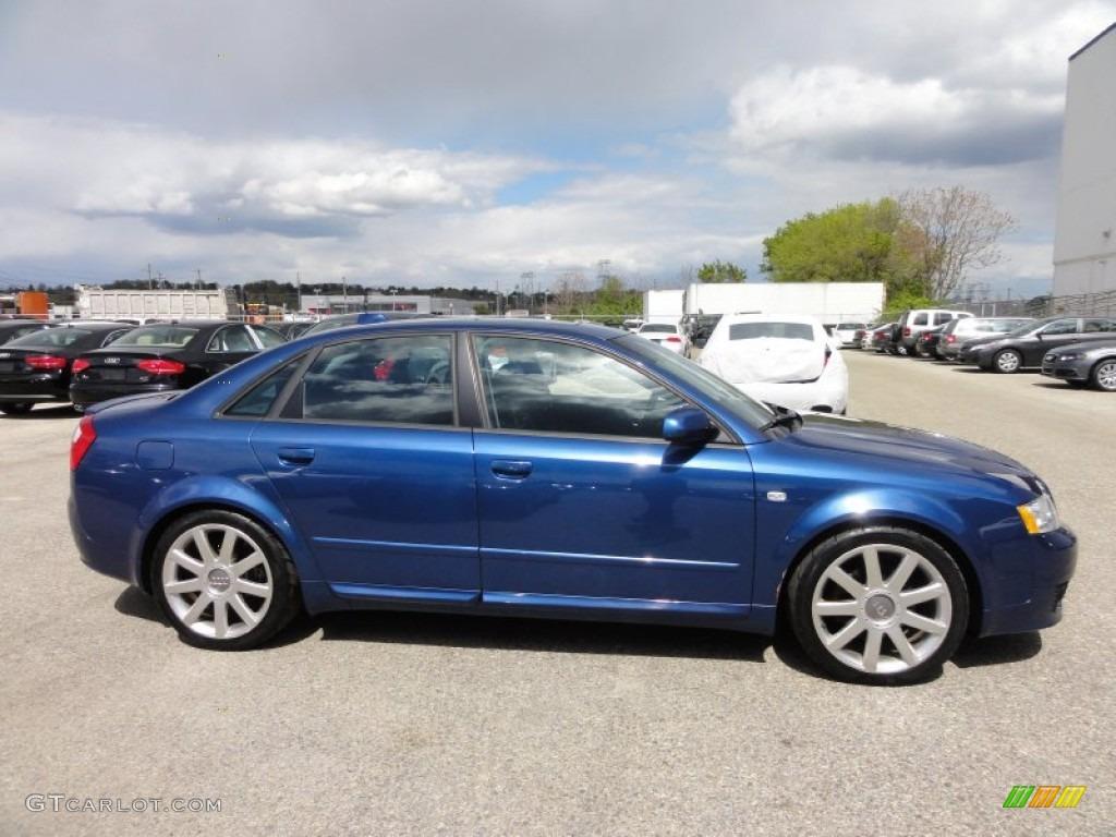 Ocean Blue Pearl Effect 2004 Audi A4 1 8t Quattro Sedan Exterior Photo 63765269