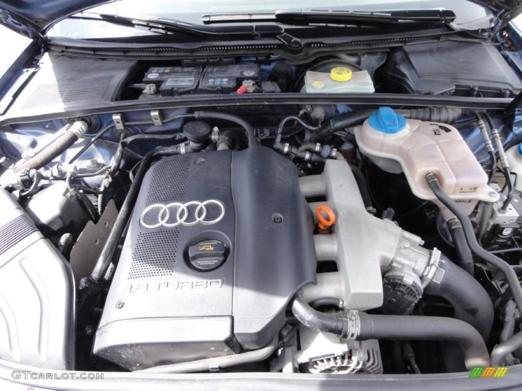 2004 Audi A4 1 8t Quattro Sedan 1 8l Turbocharged Dohc 20v