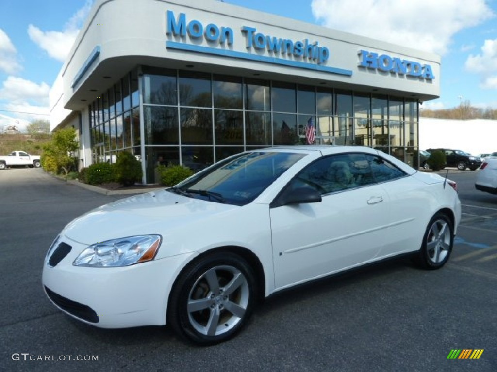 2006 Ivory White Pontiac G6 Gt Convertible 63723493