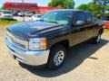 2012 Black Granite Metallic Chevrolet Silverado 1500 LS Extended Cab  photo #2