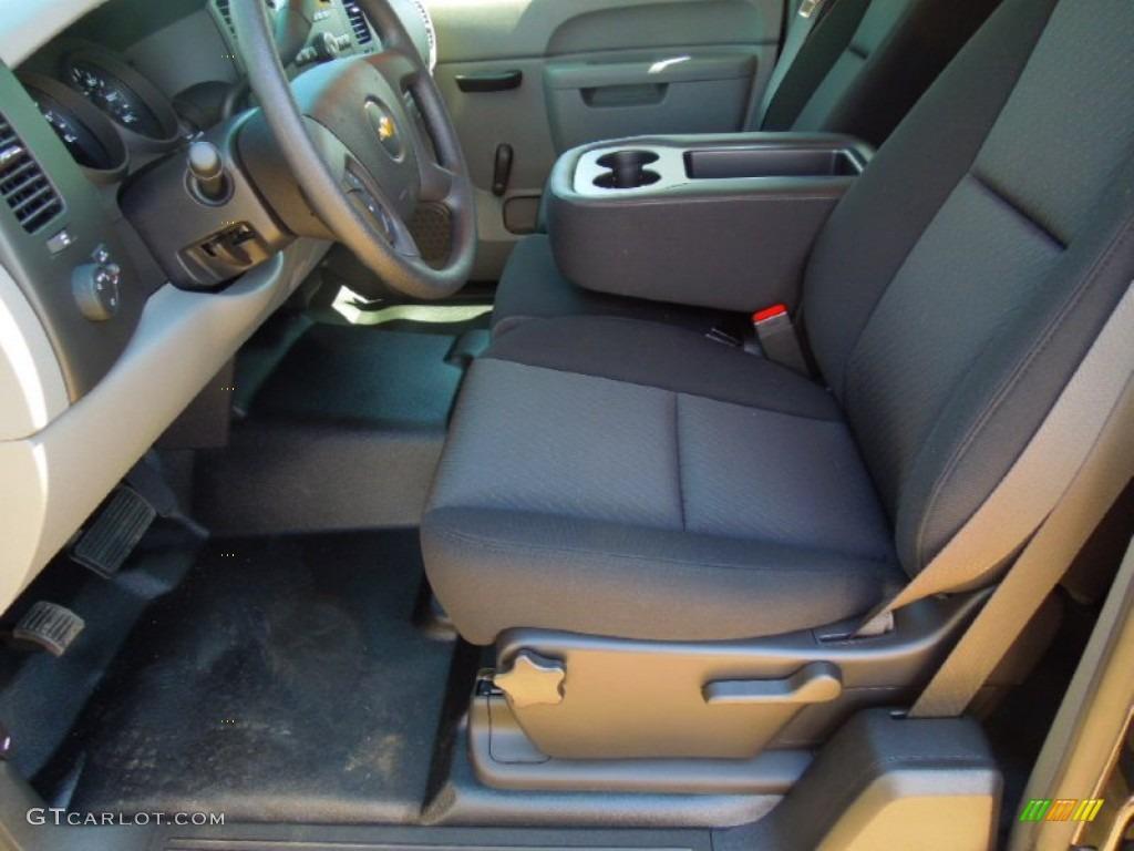2012 Silverado 1500 LS Extended Cab - Black Granite Metallic / Dark Titanium photo #8