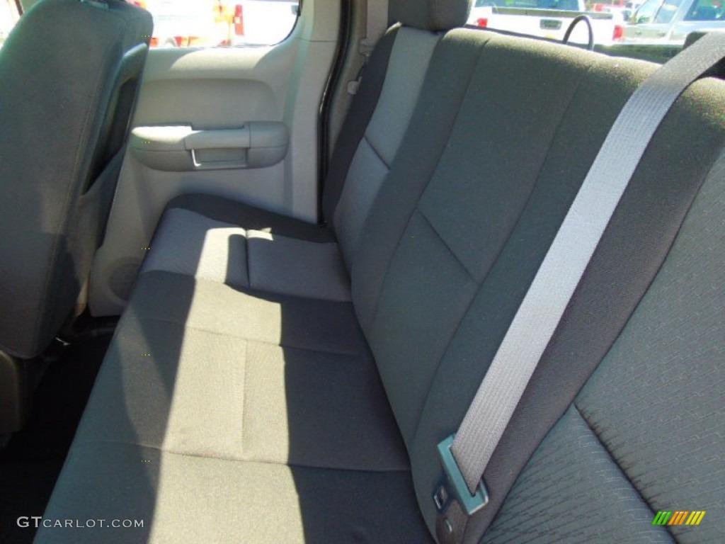 2012 Silverado 1500 LS Extended Cab - Black Granite Metallic / Dark Titanium photo #15