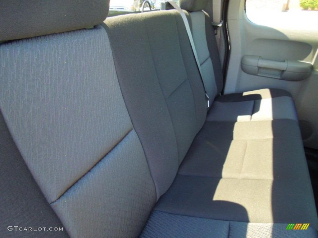 2012 Silverado 1500 LS Extended Cab - Black Granite Metallic / Dark Titanium photo #19