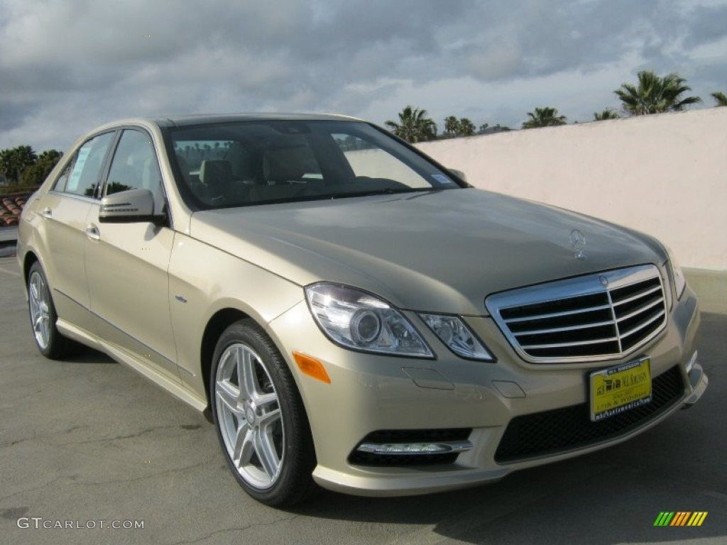 2012 pearl beige metallic mercedes benz e 350 sedan for Mercedes benz e 350 2012