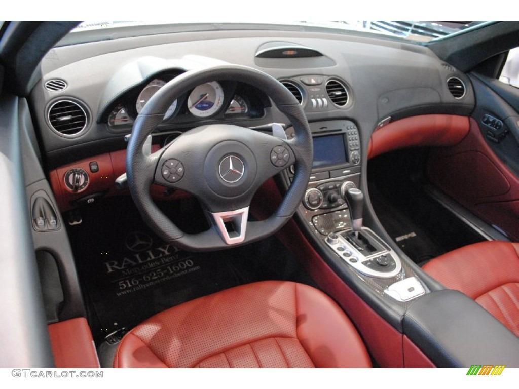 Red Interior 2009 Mercedes Benz Sl 63 Amg Roadster Photo 63784494