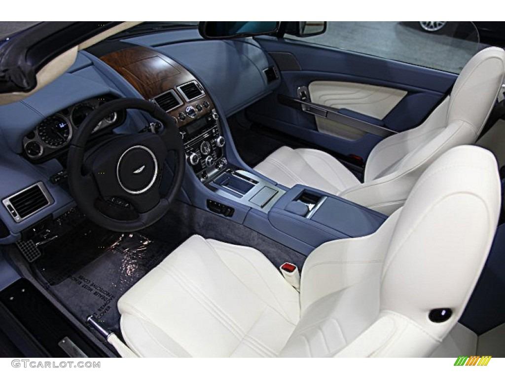 Cream Truffle Interior 2012 Aston Martin V8 Vantage S