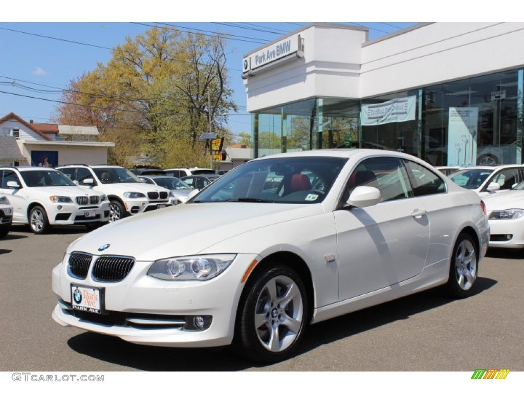 2011 Mineral White Metallic Bmw 3 Series 335i Xdrive Coupe