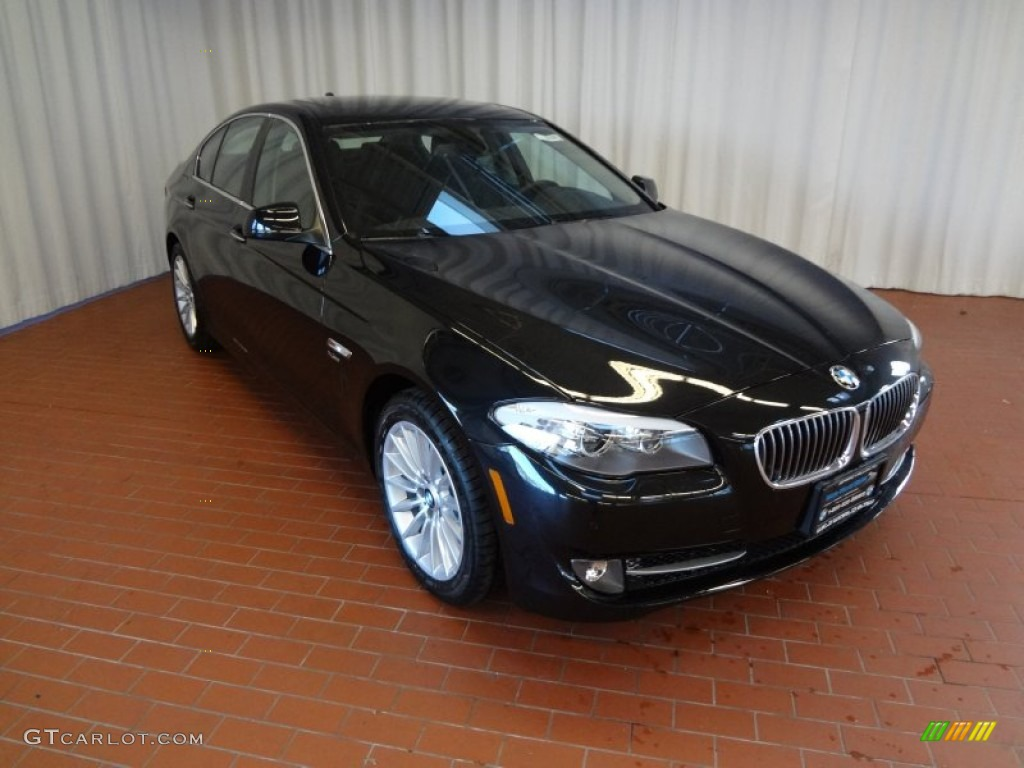 2012 black sapphire metallic bmw 5 series 535i xdrive. Black Bedroom Furniture Sets. Home Design Ideas
