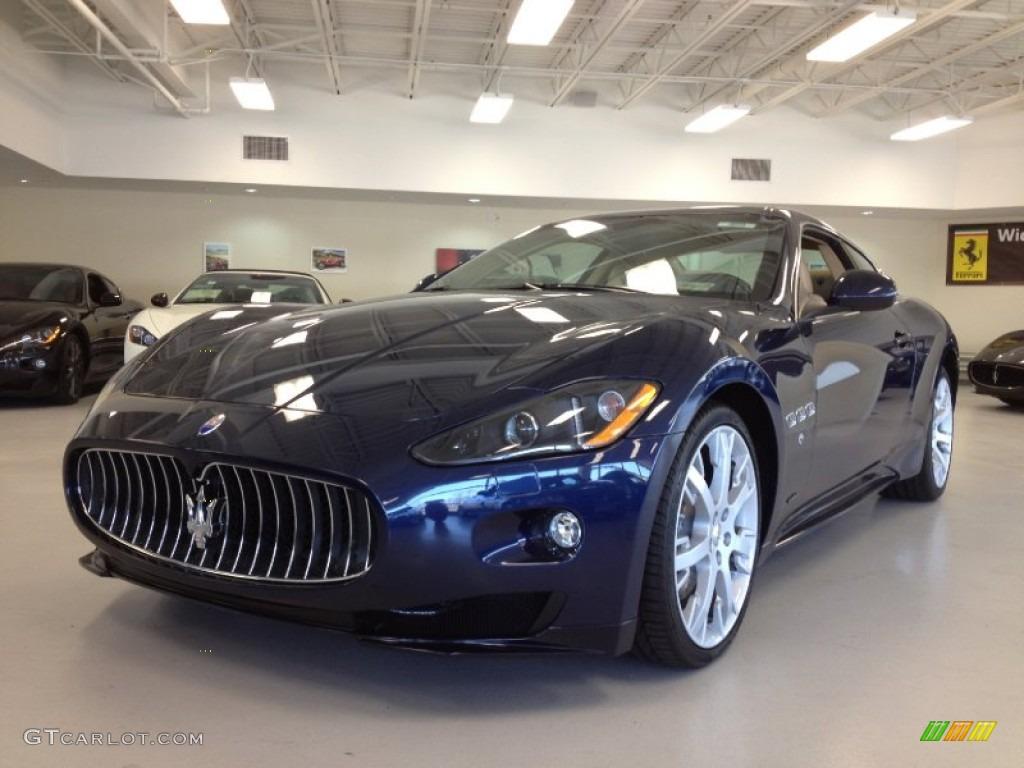 Maserati granturismo blue - photo#21