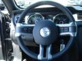 Charcoal Black 2013 Ford Mustang Interiors