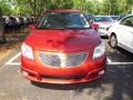 Salsa Dark Red 2006 Pontiac Vibe