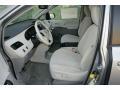 2012 Silver Sky Metallic Toyota Sienna LE AWD  photo #3