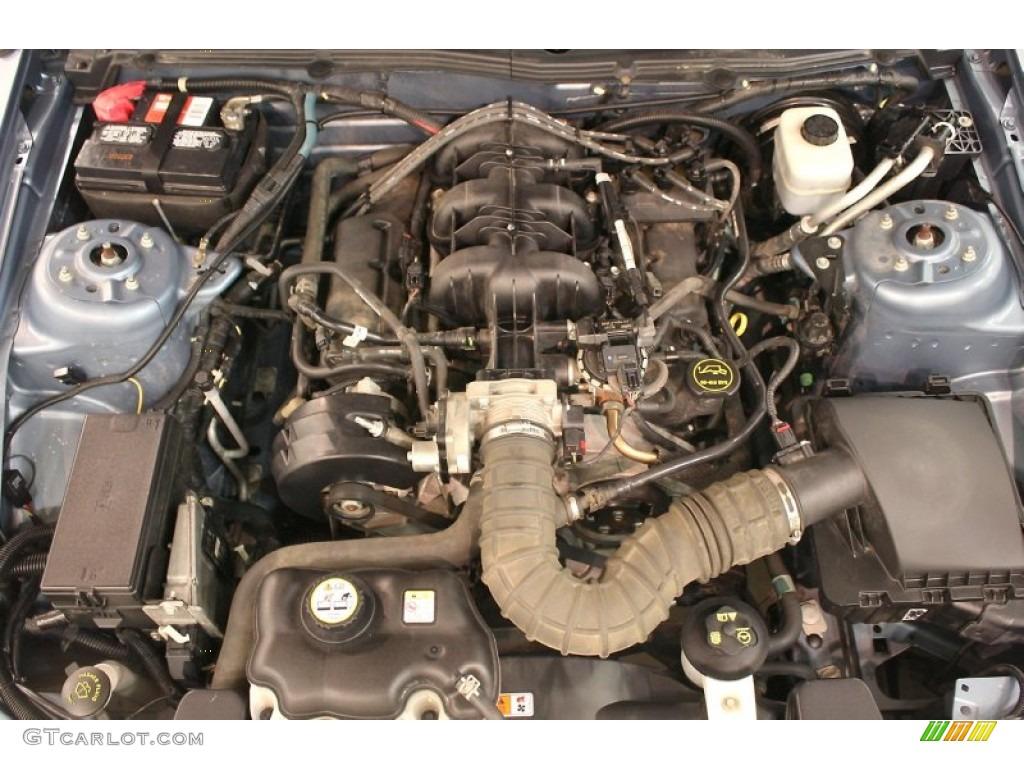 2005 ford mustang v6 premium coupe 4 0 liter sohc 12