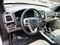 Medium Light Stone 2013 Ford Explorer Limited 4WD Dashboard