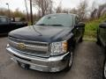 2012 Imperial Blue Metallic Chevrolet Silverado 1500 LT Extended Cab  photo #1