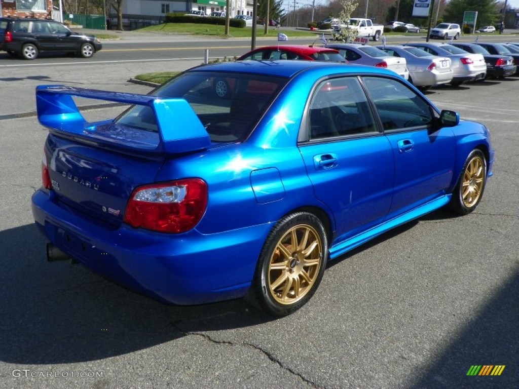 wr blue pearl 2004 subaru impreza wrx sti exterior photo. Black Bedroom Furniture Sets. Home Design Ideas