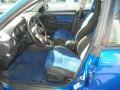 2004 Subaru Impreza Blue Ecsaine/Black Interior Interior Photo