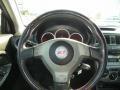 2004 Subaru Impreza Blue Ecsaine/Black Interior Steering Wheel Photo