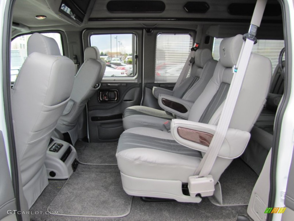 medium pewter interior 2012 chevrolet express 1500 awd