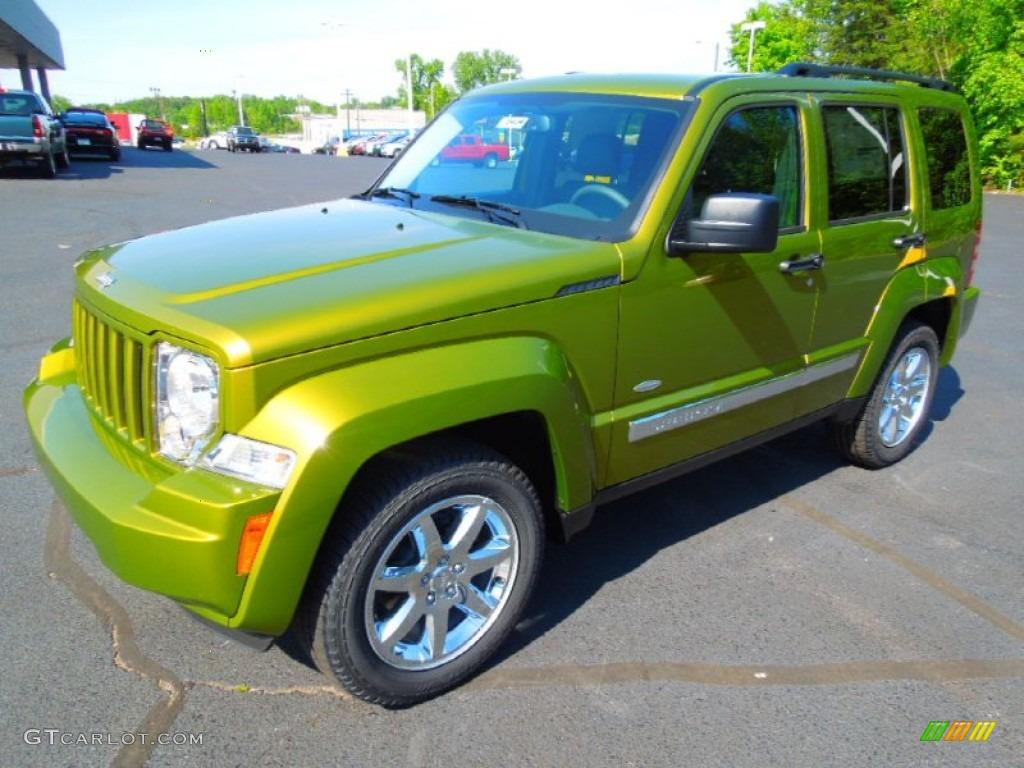2012 Rescue Green Metallic Jeep Liberty Latitude 63848372